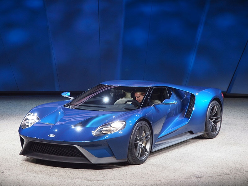 8) 2017 Ford GT