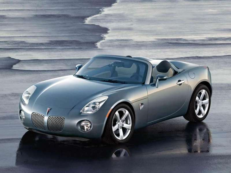 Good 2. Pontiac Solstice