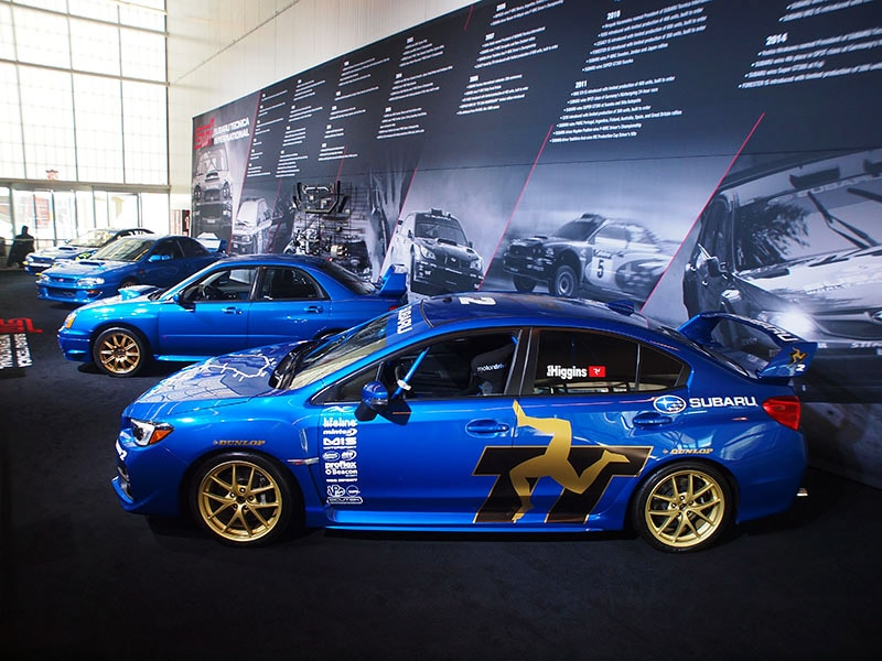 Five Of Subaru S Most Desirable Sti Vehicles Come To New York Auto