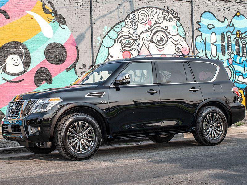 2019 Nissan Armada 8 500 Lb Tow Capacity