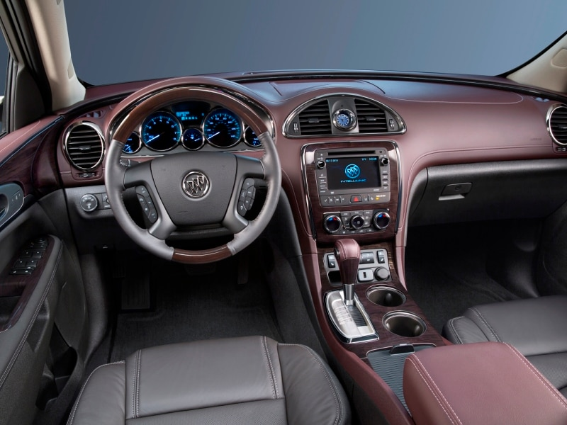 The 2017 Buick Enclave Features A Car Like Ride