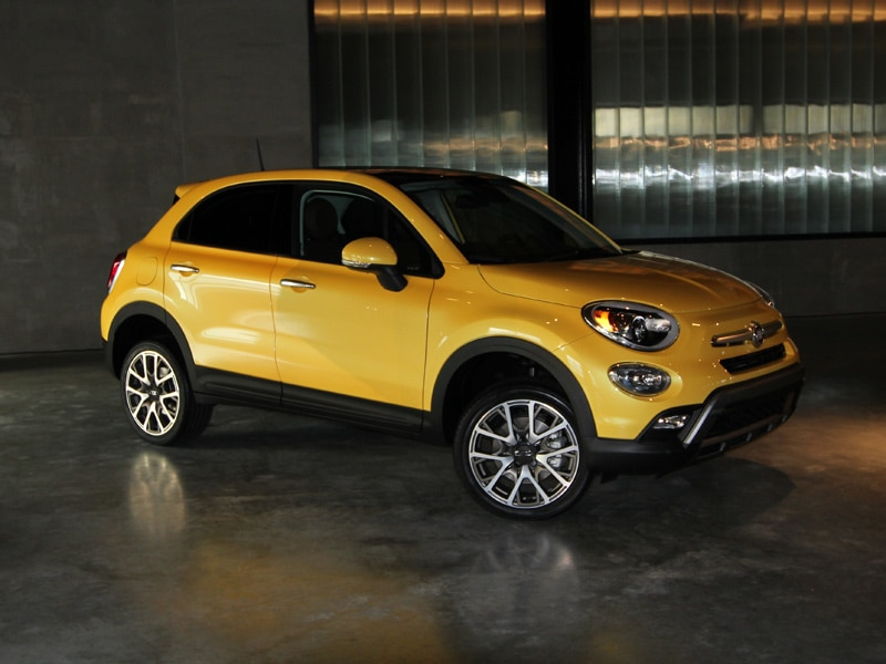 2016 fiat 500x first drive review. Black Bedroom Furniture Sets. Home Design Ideas