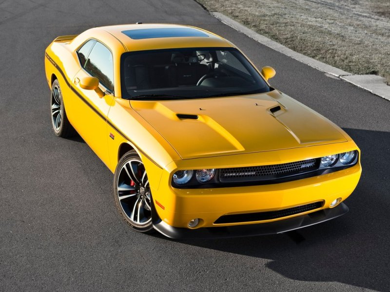2017 Dodge Challenger Srt8 392 Yellow Jacket