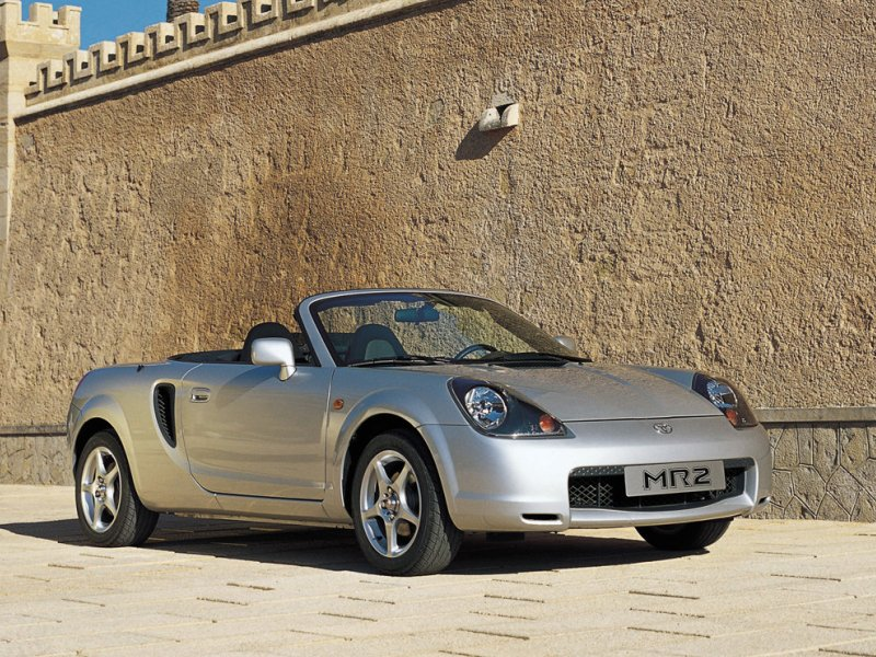 3. Toyota MR2 Spyder