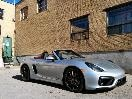 2015 Porsche Boxster GTS front three-quarter top down