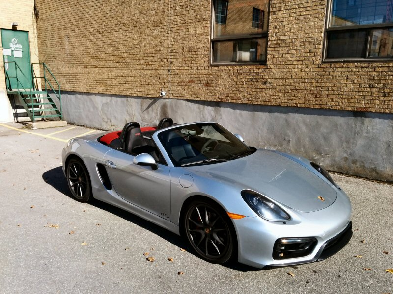 porsche boxster sports car