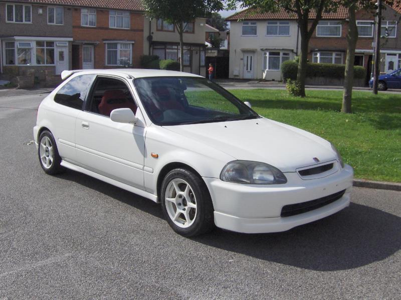 Honda Civic Type R on 1998 Honda Logo