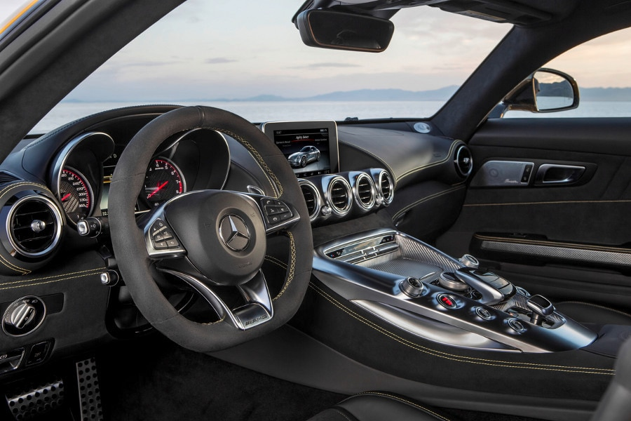 Good 2016 Mercedes AMG GT S   Notable Features