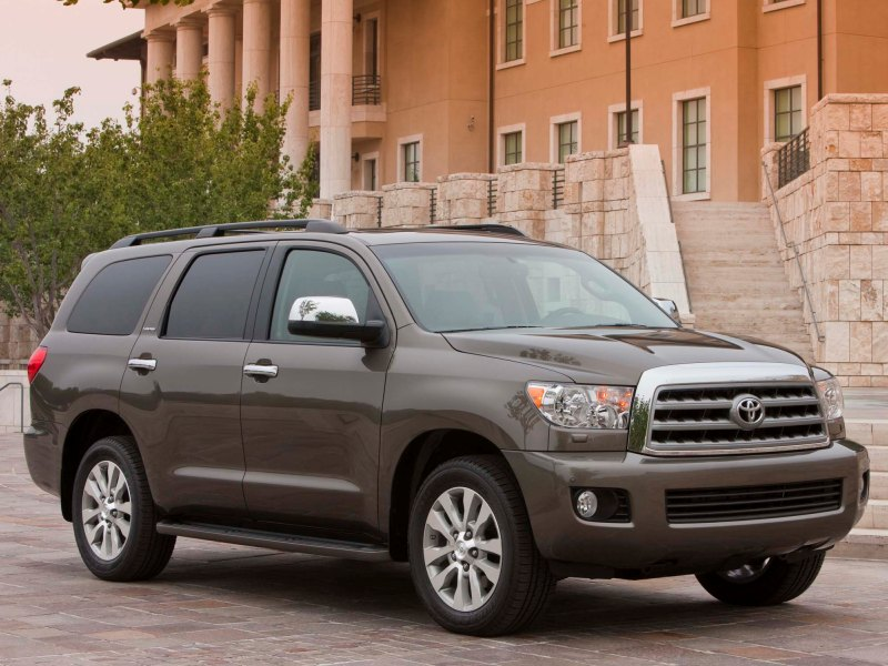 Toyota Sequoia With Seating For Eight