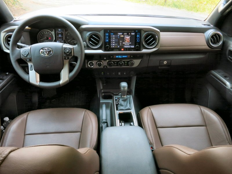 7 The Cabin Of 2016 Toyota Tacoma Has Been Significantly Updated
