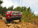 2016 Toyota Tacoma front off-road rocks