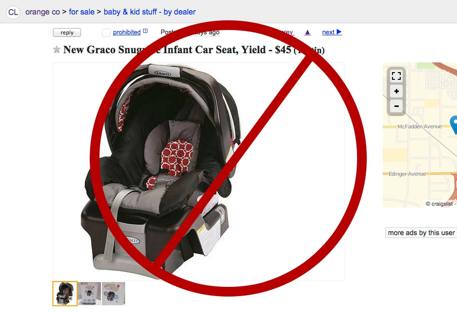Buying New Vs Used For Car Seats