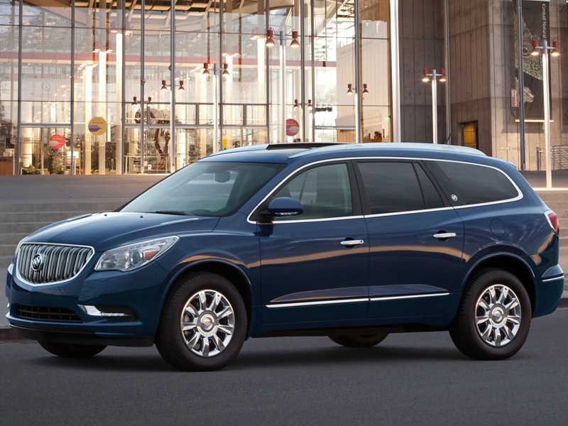 2016 Buick Enclave Infotainment And Audio