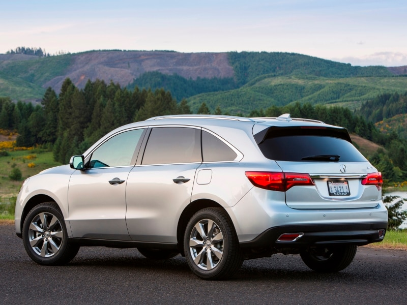2016 acura mdx quick spin review. Black Bedroom Furniture Sets. Home Design Ideas