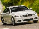 2015-BMW-535d-front-34-white-driving