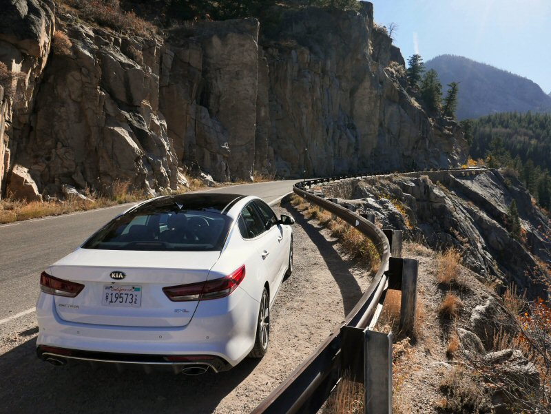 2016 Kia Optima Prefer Midsize Cars With Panoramic