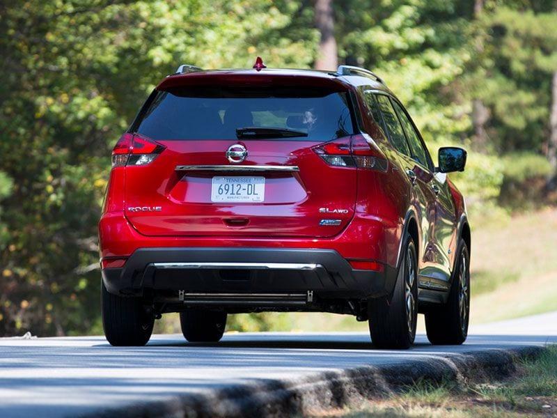 2017 5 Nissan Rogue Hybrid