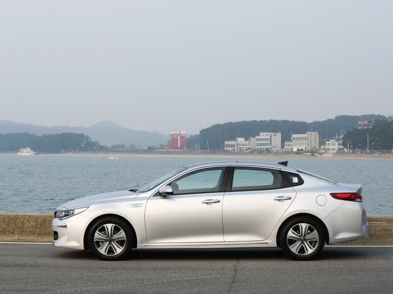 2016 kia optima hybrid and optima phev first drive and review. Black Bedroom Furniture Sets. Home Design Ideas