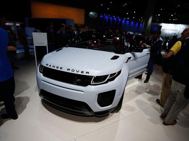 10 2017 Land Rover Range Evoque