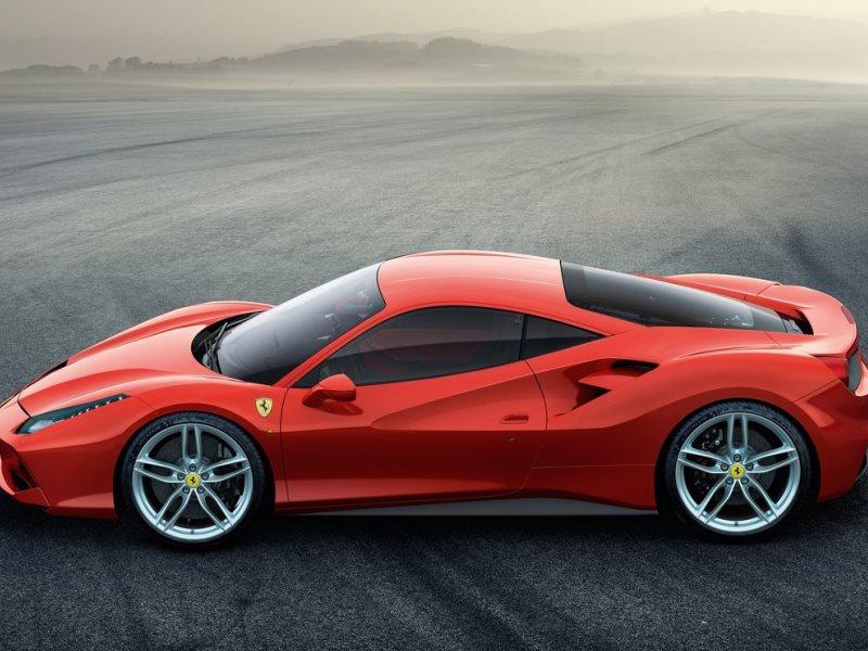 Amazing 6. 2016 Ferrari 488 GTB
