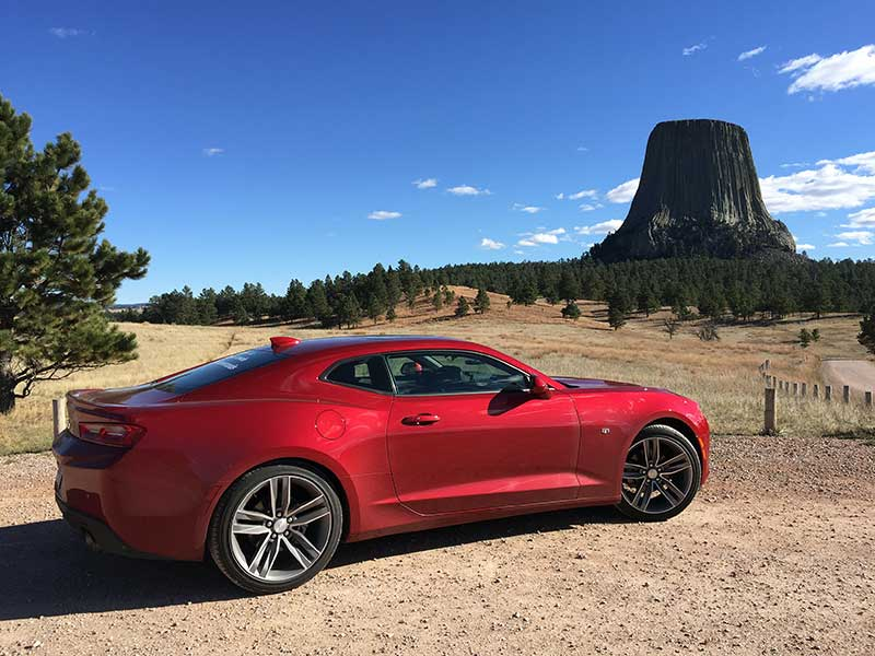 8 Things We Learned About The 2016 Chevrolet Camaro While Finding New Roads
