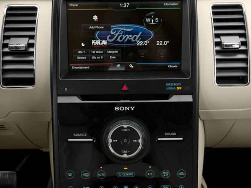 Minivan Rear Seat Climate Controls