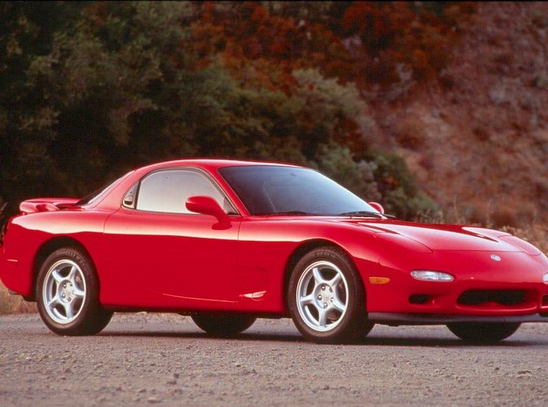 10) Mazda RX 7