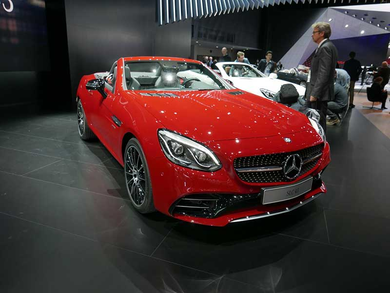2016 Mercedes Benz Slc Roadster