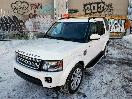 2016 Land Rover LR4 Front Three Quarter 07