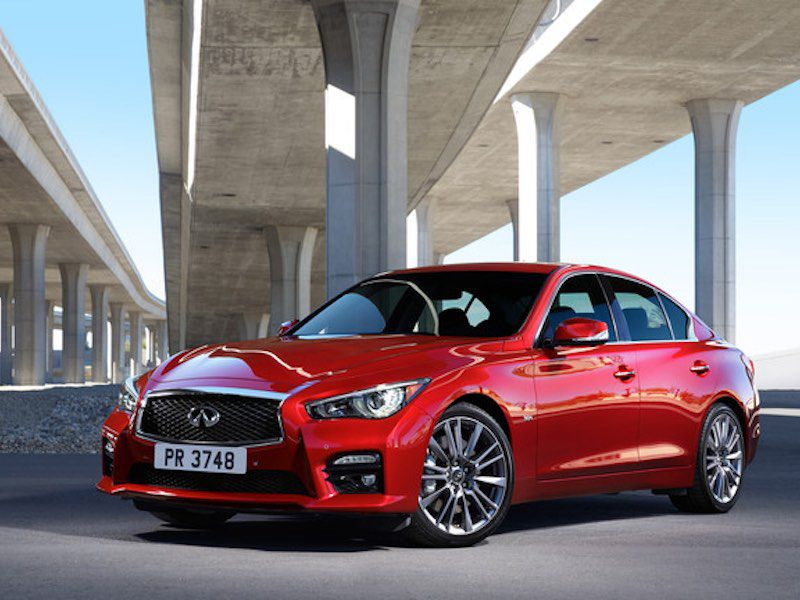 7) 2016 Infiniti Q50   The All New High Performance Contender