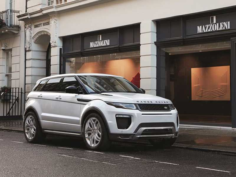 2017 Land Rover Range Evoque Luxury Crossovers