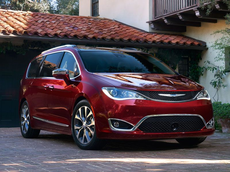 6 2017 Chrysler Pacifica