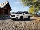 2019 Subaru Forester White Front Three Quarter