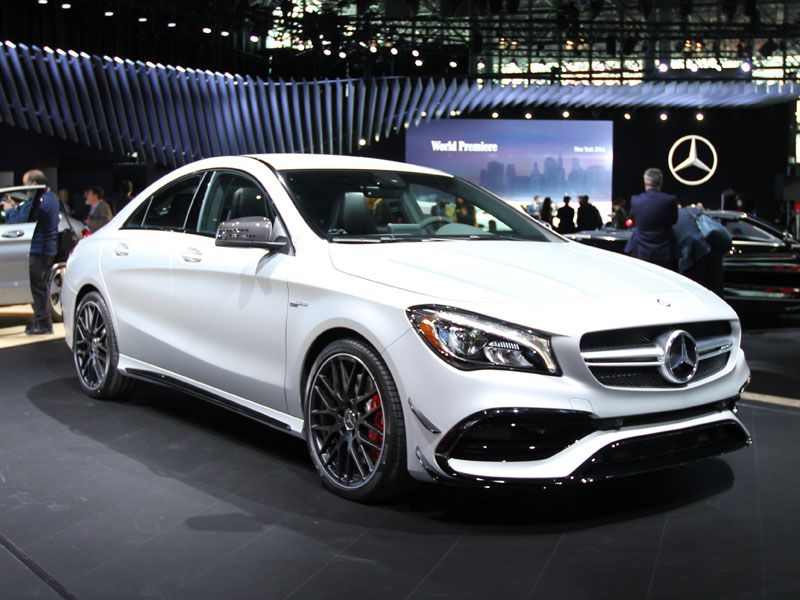 Must see luxury cars and sedans at the 2016 new york auto for Mercedes benz of new york