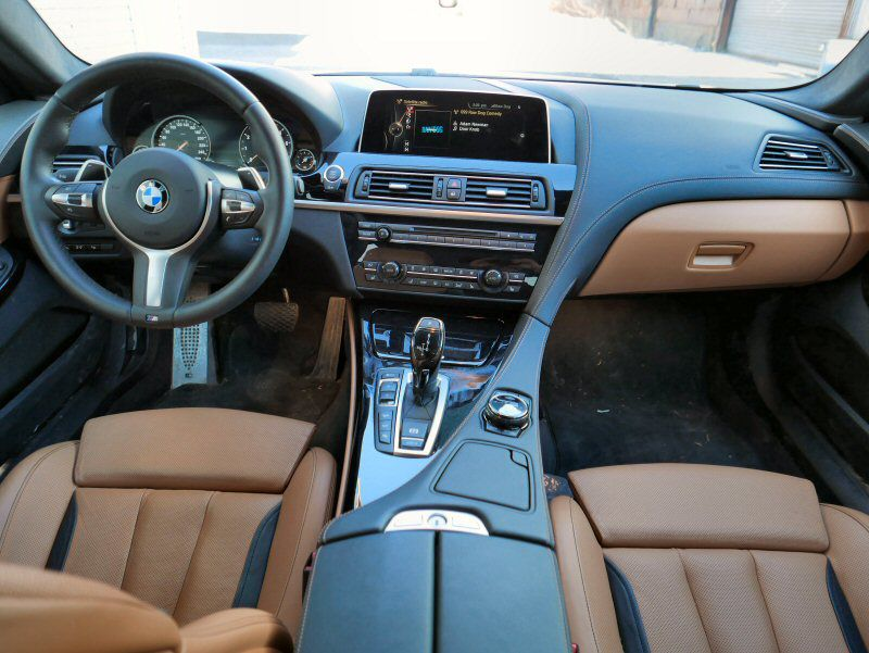 Interior Trings Remain On The Plain Side A Simply Stated Exterior Works Well For 2016 Bmw 650i Xdrive Gran Coupe