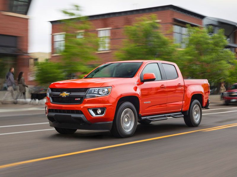 Chevrolet Colorado 10 Trucks with the Best Resale Value  Autobytel com