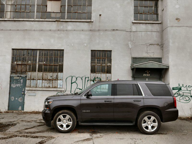 Drives Like A Truck But Very Comfortable The 2016 Chevrolet Tahoe S