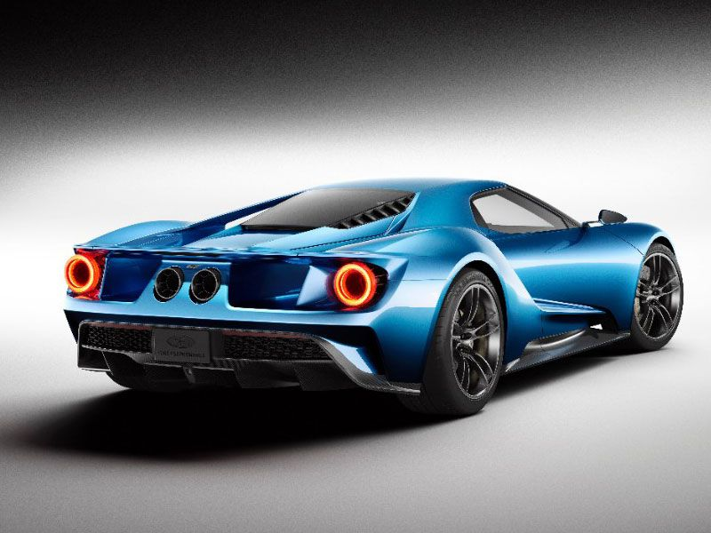 1 2017 Ford Gt