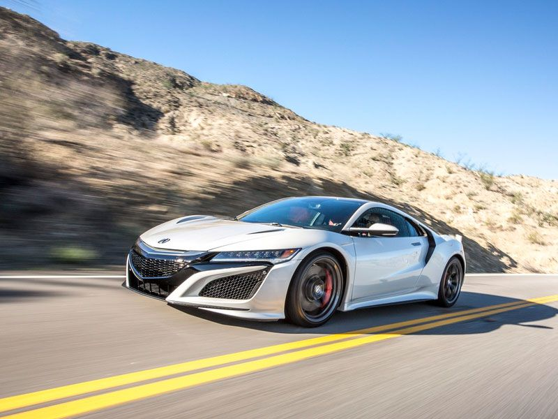 2018 Acura NSX Road Test and Review | Autobytel.com