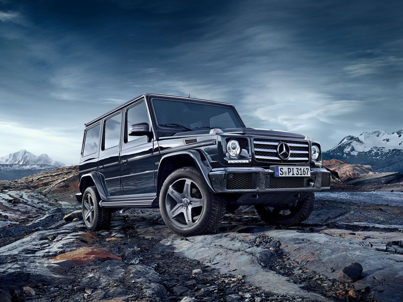 10 Of The Gest Suvs Photo Credit Mercedes Benz