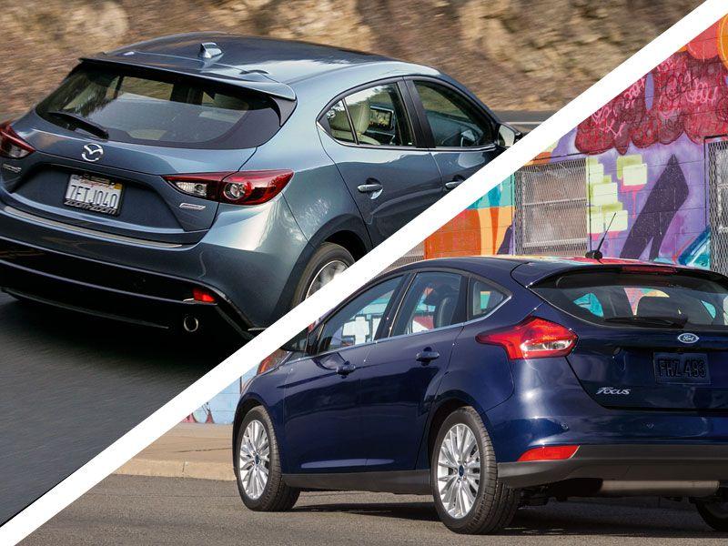 Captivating Focus Vs. Mazda3: Exterior Design And Lighting