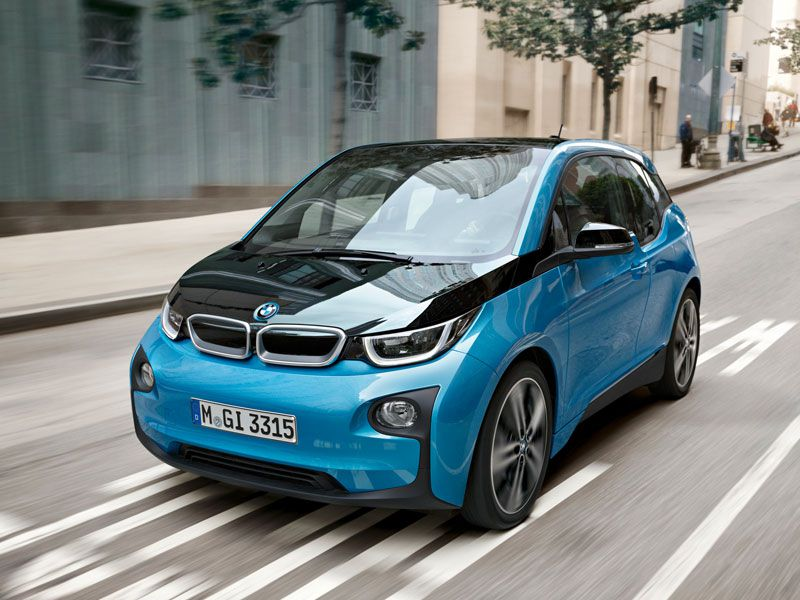 2016 Bmw I3 With Range Extender 39 Mpg Combined