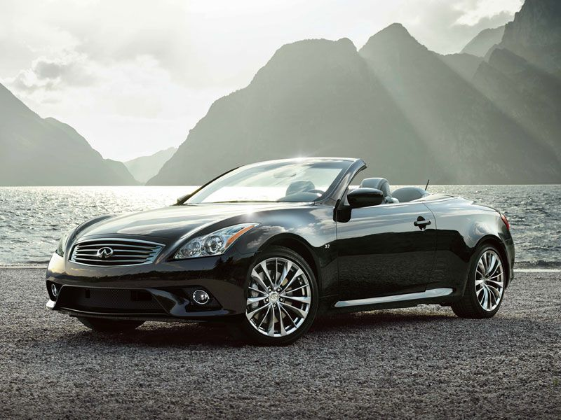 2015 Infiniti Q60 Convertible >> 10 Best Retractable Hardtop Convertibles | Autobytel.com