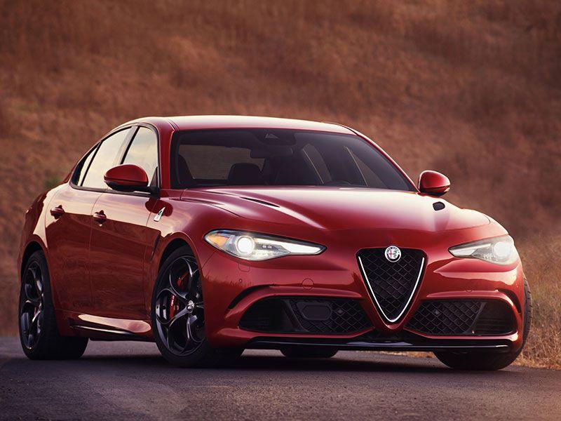 Delightful 2017 Alfa Romeo Giulia Quadrifoglio