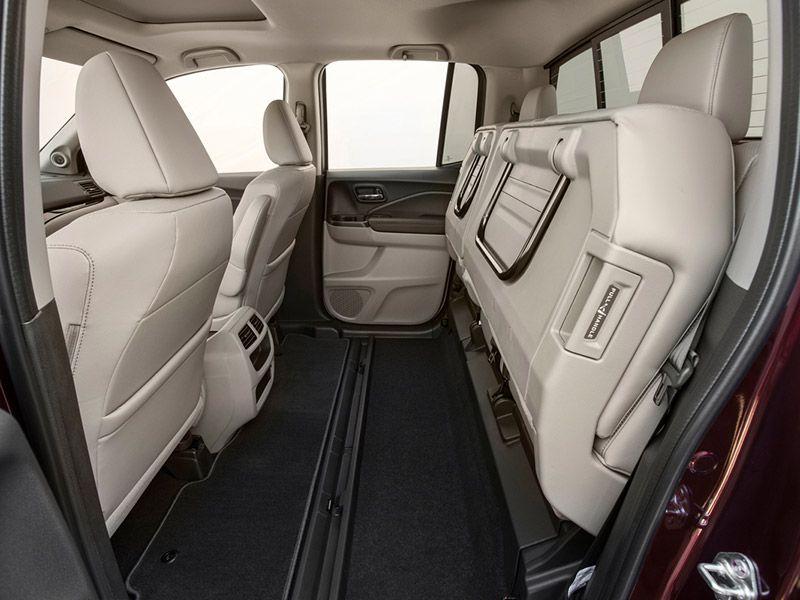 Under Seat Truck Storage >> 2017 Honda Ridgeline Road Test and Review | Autobytel.com