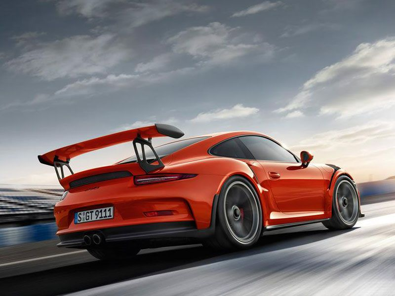 10 cool cars with wings autobytel 2016 porsche 911 gt 3 rs voltagebd