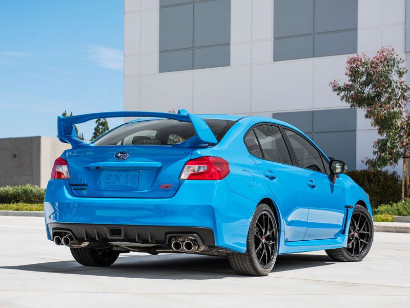 Subaru WRX STI   $34,695. Who Says Sports Cars Have To Be 2 Door ... Great Ideas