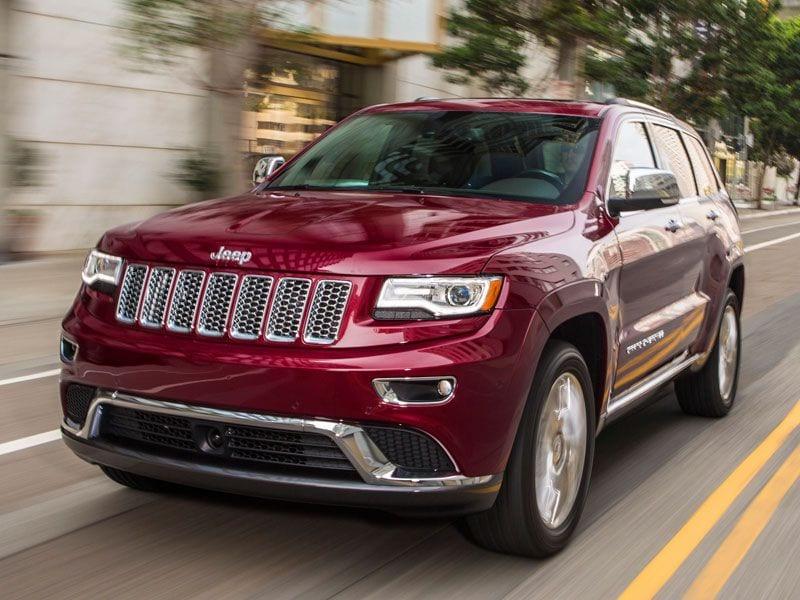 2 2016 Jeep Grand Cherokee
