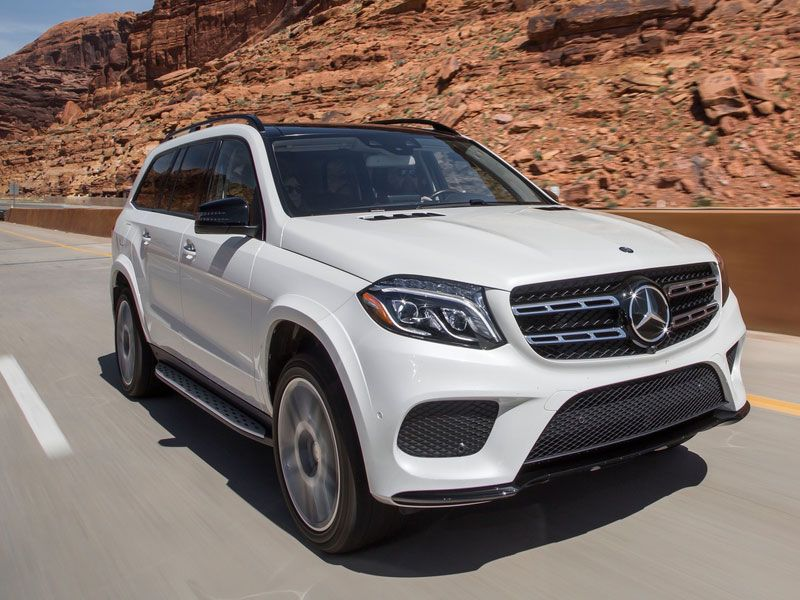 8 2017 Mercedes Benz Gls550