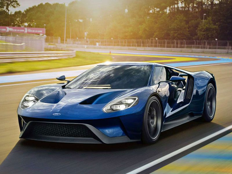 The Enthusiast Ford Gt In Liquid Blue